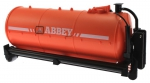 Treckerheld Fass-Aufsatz ABBEY Orange fürKrampe Hakenlift Fahrgestell Siku 6786rechts
