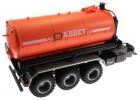 Treckerheld Fass-Aufsatz ABBEY Orange auf Krampe Hakenlift Fahrgestell Siku 6786 oben hinten rechts