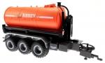 Treckerheld Fass-Aufsatz ABBEY Orange auf Krampe Hakenlift Fahrgestell Siku 6786 vorne rechts