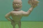 Treckerheld Figur gedruckt