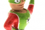 Treckerheld 3D Figur stehend rechts