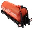 Treckerheld Fass-Aufsatz ABBEY Orange fürKrampe Hakenlift Fahrgestell Siku 6786 vorne