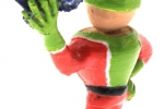 Treckerheld 3D Figur stehend hinten links