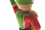 Treckerheld 3D Figur stehend hinten rechrts