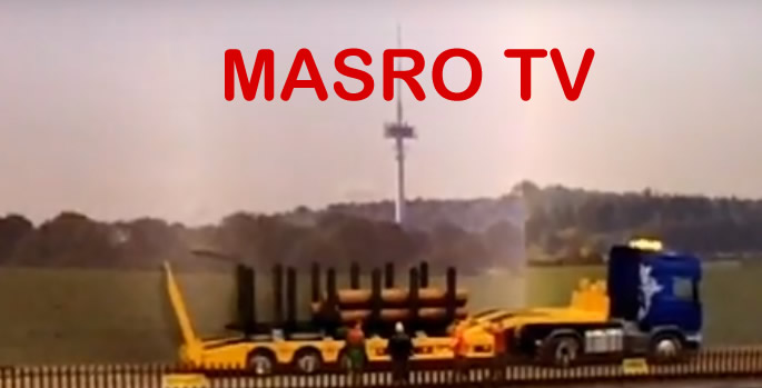 Forst-Aufsatz für Siku LKW Tieflader bei MASRO TV