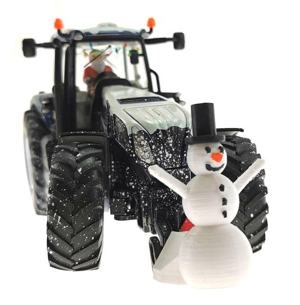 Siku 3220 - Weihnachtstraktor mit Schneemann